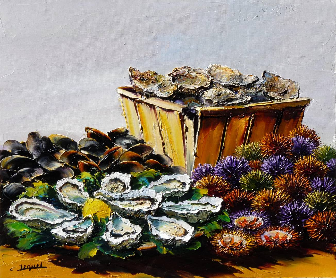 Coquillages et fruits de mer