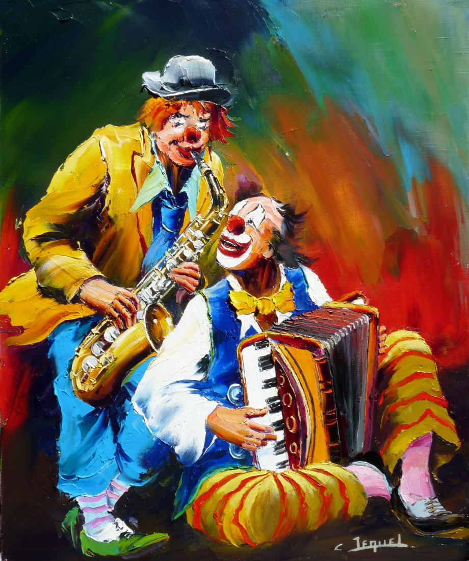 les clowns musiciens